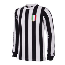 Retro Football Shirts - Juventus Home 1951/52 - Black/White - COPA 144