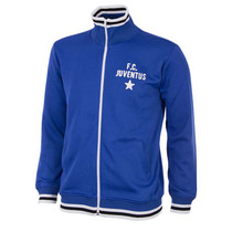 Retro Football Jackets - Juventus 1975/76 Tracksuit Top - Blue - COPA 910