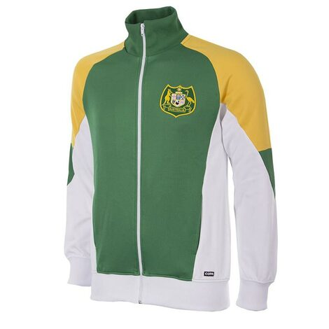 Retro Football Jackets - Australia 1991 - Green/Yellow/White - COPA 892
