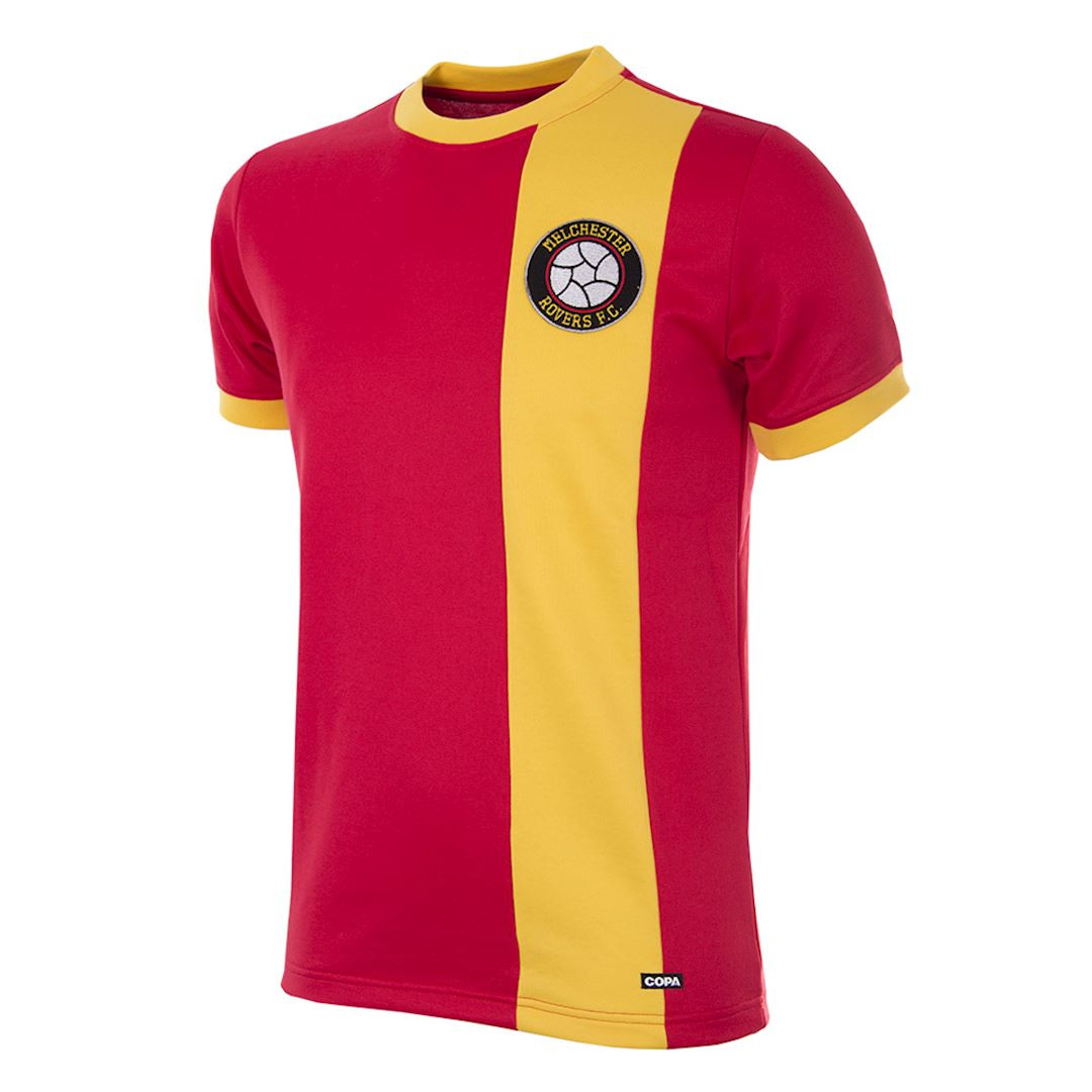 618ad132d Retro Football Shirts - Melchester Rovers Home 1980 s - COPA
