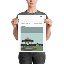 Stranraer Stair Park Print (30x42cm)