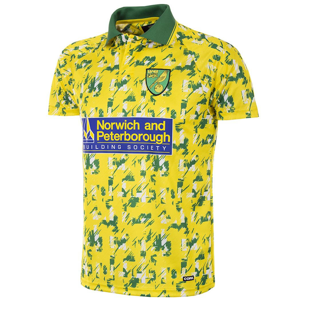 c092bd1a3e6 Retro Football Shirts - Norwich City Home Jersey 1992 94 - COPA 157