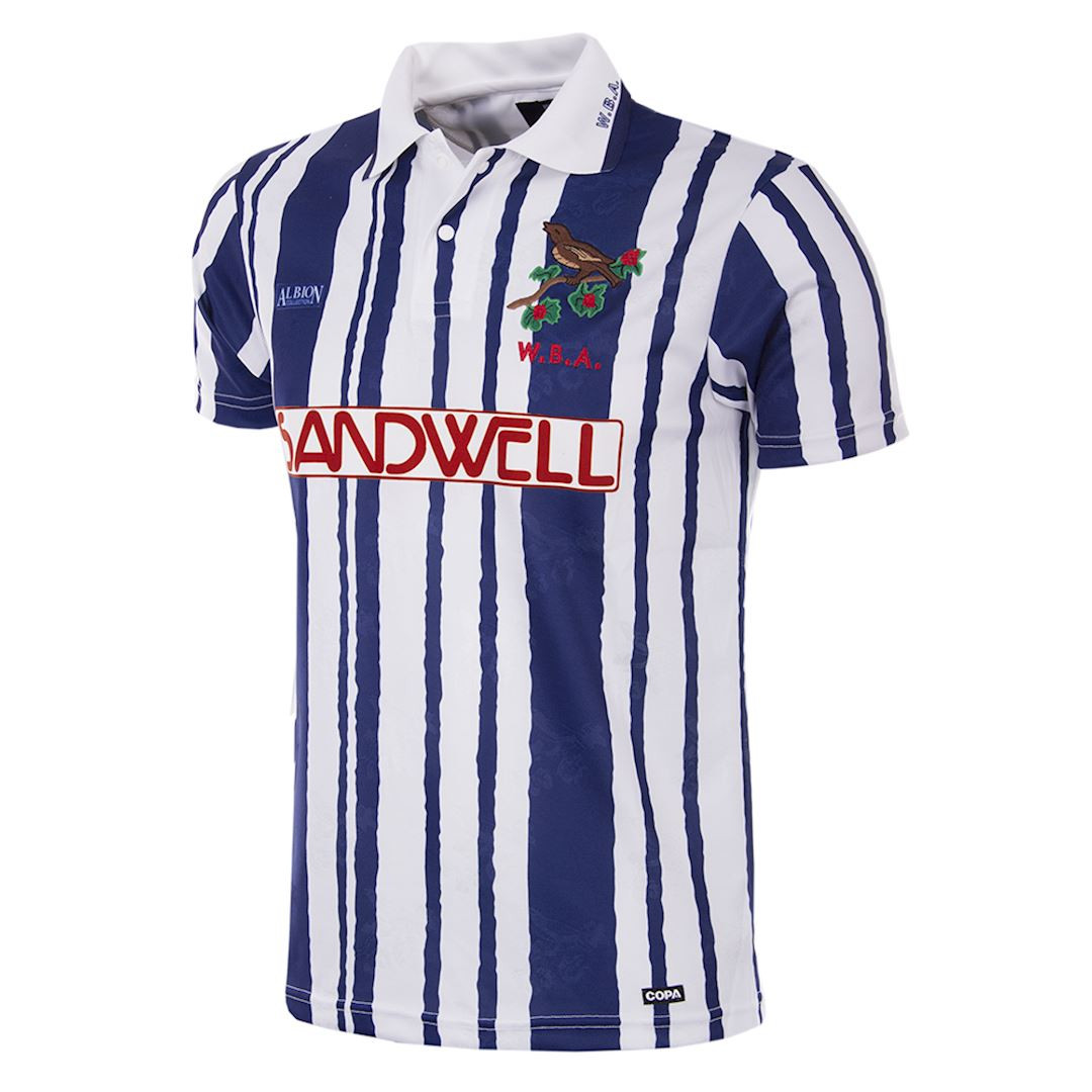 23cafde2a72eb5 Retro Football Shirts - West Brom Retro Home Jersey 1992/93 - COPA 142