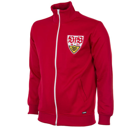 Retro Football Jackets - VfB Stuttgart Tracksuit Top 1970's - COPA 899