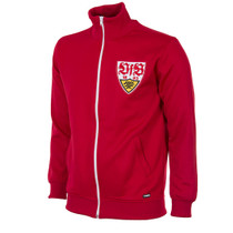 Retro Football Jackets - VfB Stuttgart Tracksuit Top 1970's - COPA 899