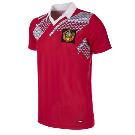 Russia (CCCP) Retro Home Shirt WC 1990