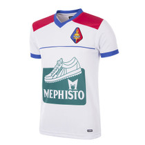 Retro Football Shirts - Telstar Home Jersey 1993/94 - White/Red/Blue - Copa