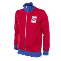 Retro Football - Croatia Tracksuit Jacket 1992 - Red/Blue/White - COPA