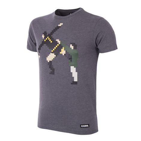 Football Fashion - Kung Fu T-Shirt - Grey - COPA 6797