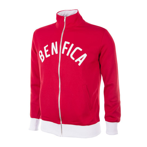 Retro Football Jackets - Benfica Tracksuit Top 1960's - COPA 923