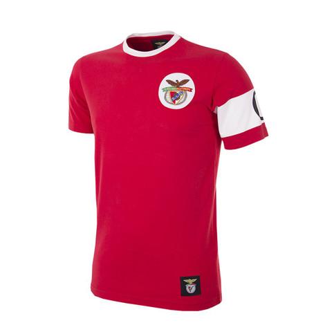 Retro Football T-Shirts - Benfica Retro Captain Tee - COPA 6903