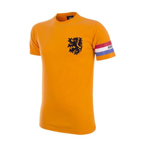 Retro Football T-Shirts - Kids Holland Retro Captain Tee - COPA 6860