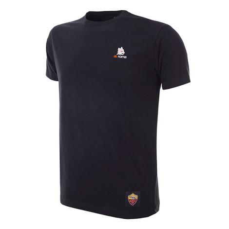 Football Fashion - A.S Roma Lupetto T-Shirt - Black - COPA 6916