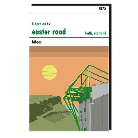 Hibs Easter Road Stadium Print (30x42cm)