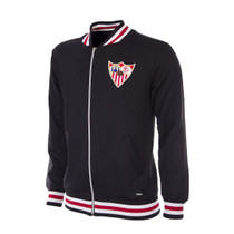 Retro Football Jackets - Sevilla Tracksuit Top 1950's - COPA 926