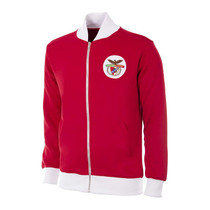 Retro Football Jackets - Benfica Tracksuit Top 1970's - COPA