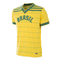 Retro Football Shirts - Brazil Home Jersey 1984 - COPA