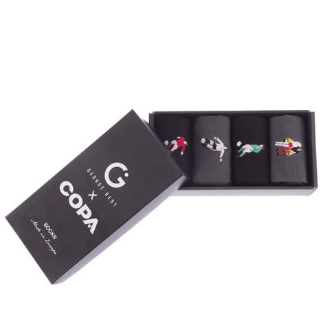 Copa George Best Casual Socks Box Set