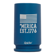 30 mm Shot Glass 'Merica Est. 1776 (Blue)