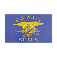 U.S. Navy SEALs Flag (Blue)