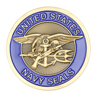 Sea Air Land/The Only Easy Day Was Yesterday Challenge Coin