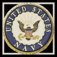 U.S. Navy SEALs Challenge Coin Black