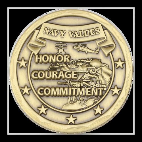 navy values