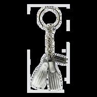 Diver Fins Keychain