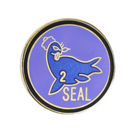 SEAL Team II Pin