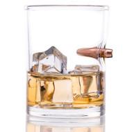 .308 Real Bullet Handblown Whiskey Glass