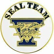 SEAL Team V Pin