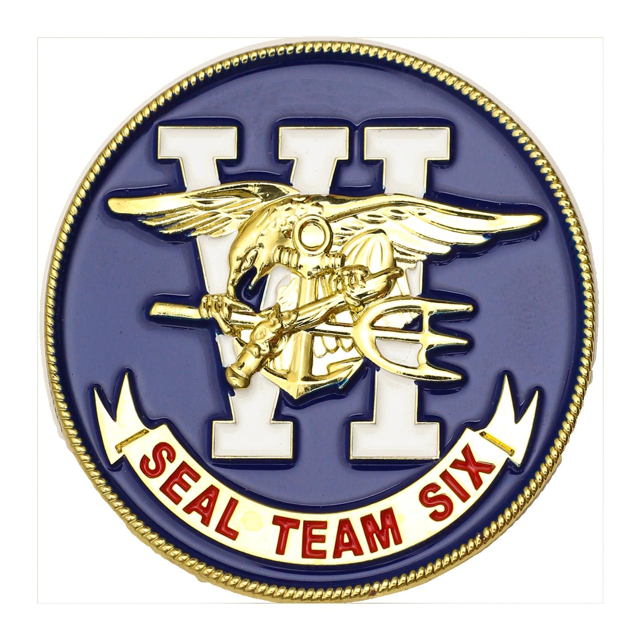 U S  Navy SEAL Team VI Challenge Coin