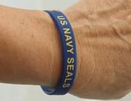U.S. Navy SEALs Silicone Wristband