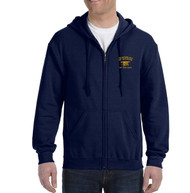 Navy SEAL Museum Full-Zip Hoodie (Navy)