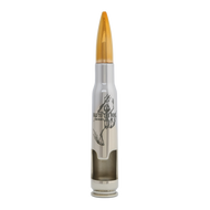 "Navy SEAL Museum's ""Bad to the Bone"" 50 cal Bottle Breacher (Chrome)"
