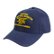 This classic, baseball-style hat features our National Navy UDT-SEAL Museum embroidered logo w/Trident. This is a low profile structure cap with six panels, pre-curved visor, and sewn eyelets.  100% cotton. One size fits most. I