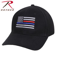 Blue and Red Line Hat