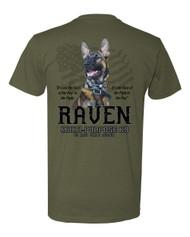 Raven - Military K9 Shirt
