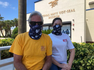 Show your Navy SEAL Museum Pride! Our ProTec Multifunctional Headwear is a Gaiter that can be used as a mask or other versatile styles. Cool and Dry technical fabric is mosture wicking SPF 40+ and Breathable.  MADE IN THE USA