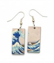 Wave Dangler Earrings