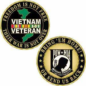 Freedom is Not Free- Vietnam Bring  'Um Home or Send Us Back- POW