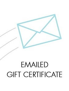 Emailed Gift Certificate