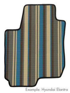 Stripe Floor Mats