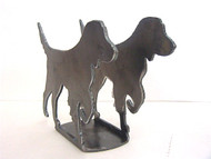 Napkin or Letter Holder with Bird Dog Outdoor Design