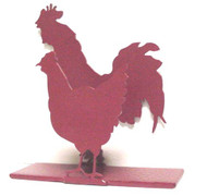 Napkin or Letter Holder with Rooster