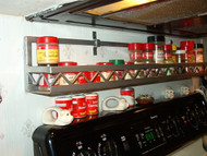 WESTERN STYLE CUSTOM POT RACK  CHOICE OF LENGTH AND COLOR FINISH