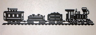 Train and carts custom silhouette, choose your color and size