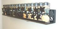 Wall Ivy Vine Spice & Lid Organizer Shelf Rack