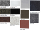 Panrack Color Choices Available