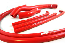 DDM Polaris Slingshot 7 Piece Silicone Coolant Hose Kit - Red